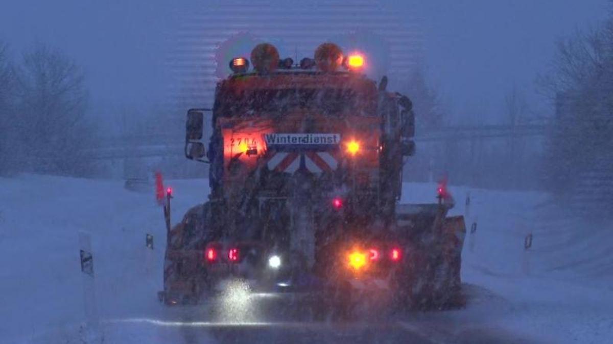 Schneeregen und Frost in Mecklenburg-Vorpommern