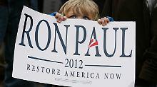 Der Libertäre Ron Paul ist die Hoffnung einer kleinen aber lautstarken Randgruppe.