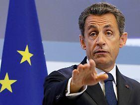 Präsident Nicolas Sarkozy hält Frankreichs Banken bei Laune. Er ist bereit, sie zur Beteiligung zu ermuntern.