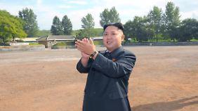Kim Jong Un, der neue Machthaber.