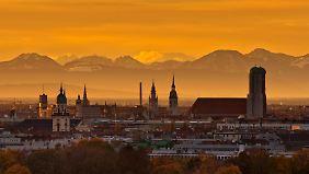 In München locken gute Gehälter. Allerdings sind die Lebenshaltungskosten auch deutlich höher als in anderen Städten.
