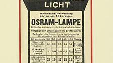 Wer bei Osram als erstes an Glühlampe denkt, liegt richtig. Allerdings lässt sich die Siemens-Tochter heute nur noch ungern als Glühlampen-Hersteller bezeichnen.