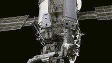 Damit wurde der Grundstein für den ersten internationalen außerirdischen Außenposten der Menschheit gelegt.
