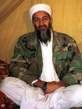 Osama bin Laden. Er ist der Kopf der Al-Kaida.