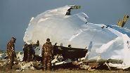 Eine Bombe hatte die Boeing 747 in 10.000 Metern Höhe zerrissen.