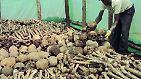 Im Schnitt sterben damit rund 8000 Menschen an einem Tag. Schätzungen zufolge werden rund zwei Drittel der Tutsi-Bevölkerung ermordet.