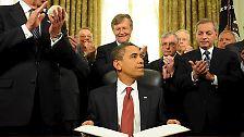 100 Tage in 100 Bildern: Obama im Weißen Haus