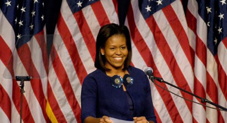 Ladies and Gentlemen, the First Lady of the United States, Mrs. Michelle Obama.
