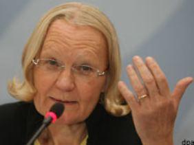 Die bisherige Generalbundesanwältin Monika Harms.