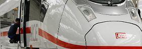 Rollt nicht so richtig an: Ein ICE der dritten Generation in der Siemens-Frabrik in Krefeld.
