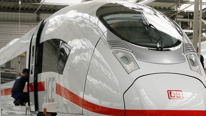 Die Deutsche Bahn braucht die ICE-Züge der dritten Generation dringend für ihre Flotte.