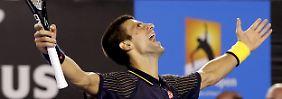 Erst Melbourne-Hattrick, jetzt Paris-Coup: Tennis-König Djokovic träumt