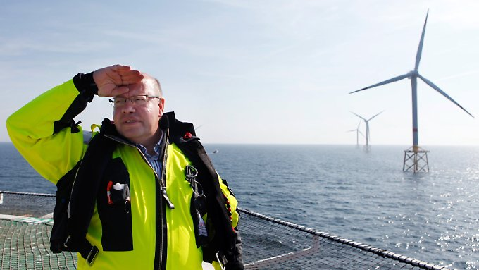 Altmaier will die Offshore-Windkraft verschonen.