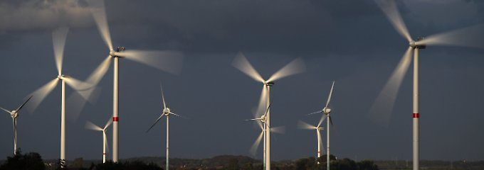 Deutschlands Windkraftanlagen könnten in der Spitze 20 AKW ersetzen.