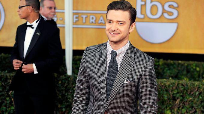 Auch bei den Screen Actors Guild Awards am 27. Januar 2013 trug Timberlake einen Ford-Anzug.
