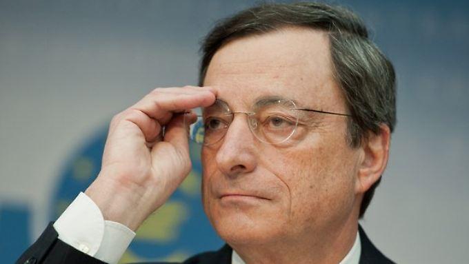 Hat die Preisentwicklung im Blick: EZB-Präsident Mario Draghi,