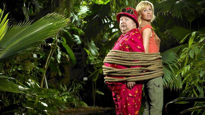 Preisverdächtige Dschungelcamp-Moderatoren: der inzwischen verstorbene Dirk Bach und Sonja Zietlow.