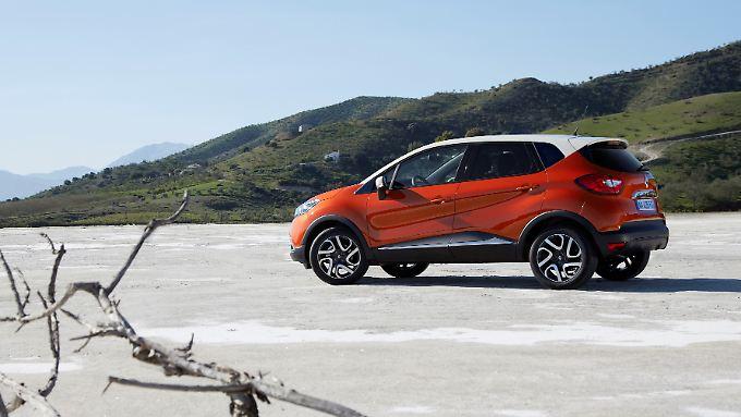 Der Renault Capture ruht auf der Plattform des neuen Clio.