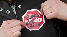 Bayern und Niedersachsen sind die einzigen Bundesländer, in denen Studenten derzeit Studiengebühren zahlen müssen.