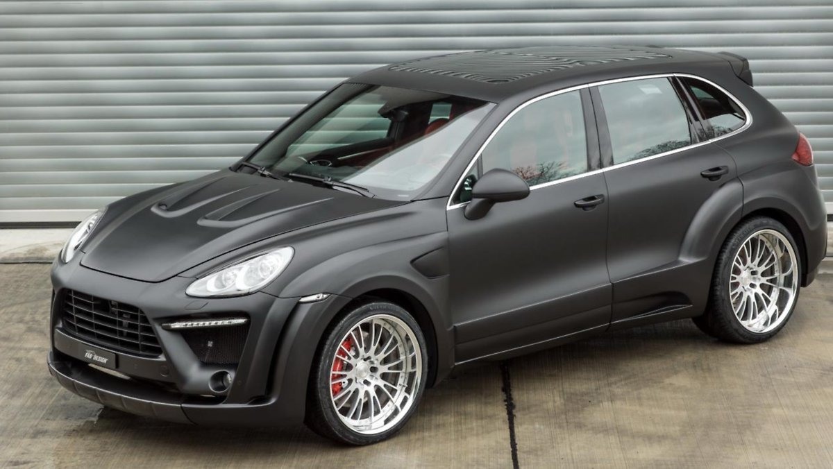 porsche cayenne schweizer tuner kr nt den schwaben n. Black Bedroom Furniture Sets. Home Design Ideas