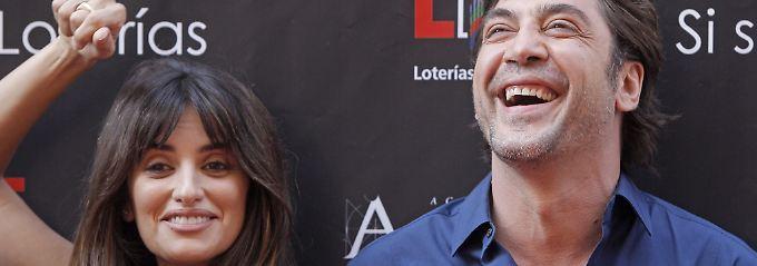 Penelopé Cruz und Gatte Javier Bardem: das wohl derzeit heißeste Paar Hollywoods.