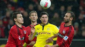 Innerhalb von vier Minuten gelang Leverkusen der Ausgleich.