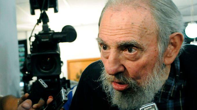 Ein rüstiger Mann von 86 Jahren: Fidel Castro kandidierte erneut für den Volkskongress.