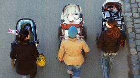 Deutschland einig Familienland? Die Studie zeichnet ein anderes Bild.