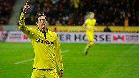 Begehrt: Robert Lewandowski, Torjäger von Borussia Dortmund.