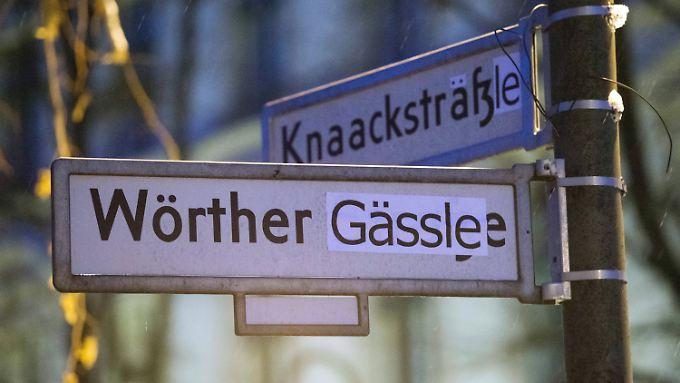 """Die Künstlergruppe """"Neuschwabenberg"""" will Schwaben und Berliner wieder versöhnen."""