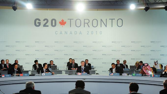 Der G20-Gipfel in Toronto ist für viele wohl zu lange her.