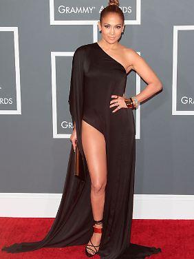 """""""Sie haben nichts über Beine gesagt"""": Jennifer Lopez."""