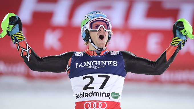 Doppel-Weltmeister: Ted Ligety aus den USA.
