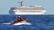 Die US-Küstenwache muss dem Luxusliner zu Hilfe kommen.