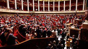 In erster Lesung stimmten 329 der 577 Abgeordneten in der Nationalversammlung für das Gesetz (Archivbild).