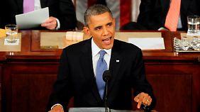 Bericht zur Lage der Nation: Obama setzt auf starken Staat