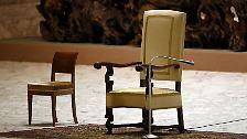 ... Benedikt bald nicht mehr auf diesem Stuhl sitzen will. Ende Februar möchte er als Papst zurücktreten - ein historischer Schritt, der ...