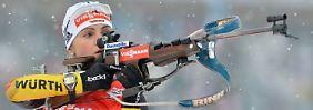 Deutsche Medaille bei der Biathlon-WM: Altstar Henkel bricht den Bann