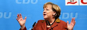 Aschermittwoch politisch und derb: Merkel keilt auch gegen FDP
