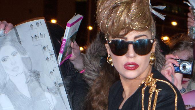 Lady Gaga schafft es einfach nicht mehr.