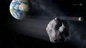Asteroid ungewöhnlich erdnah: Nasa sieht keine Gefahr