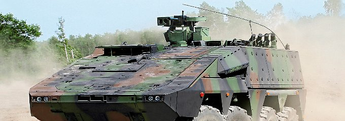Ungünstiger Produktmix: Der Gruppentransport-Panzer Boxer läuft besser als die Militär-Lkws.