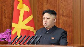 Ist auf den Rückhalt der Armeeführung angewiesen: Machthaber Kim Jong Un.