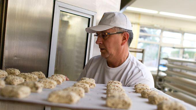 Auch als Bäcker kann man sich seine Arbeitszeiten nicht aussuchen.