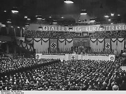"""""""Diese Stunde der Idiotie"""": So hetzte Goebbels zum """"totalen Krieg"""""""