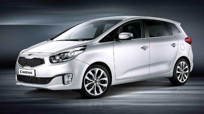 Den neuen Kia Carens gibt es bereits ab 20.000 Euro.