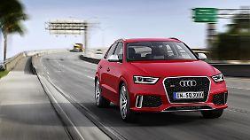 Auch äußerlich wird der Audi als sportliches Derivat zu erkennen sein.