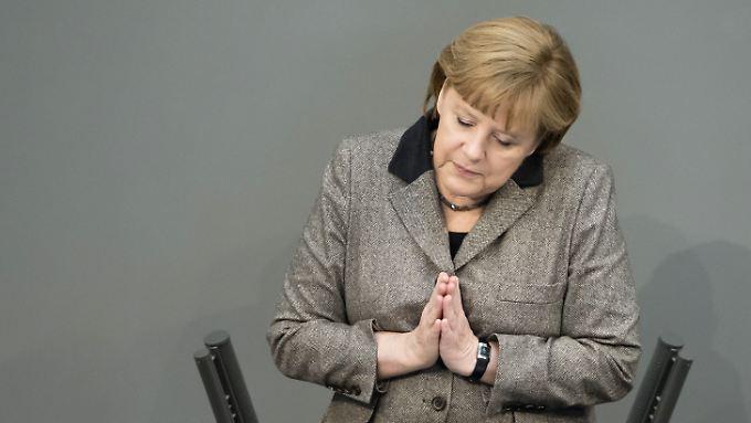 Angela Merkel will den Haushalt der EU möglichst bald in trockenen Tüchern haben.