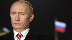 Präsident Putin hatte unlängst in Moskau ein Gesetz unterzeichnet, das Adoptionen in die USA verbot.