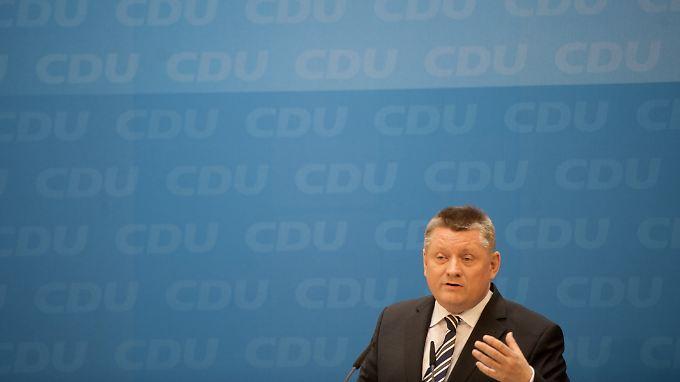 Hermann Gröhe ist seit 2009 CDU-Generalsekretär.